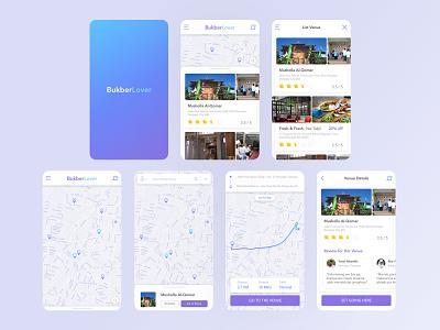 BukberLover indonesia map islam moslem mosque takjil mobile ui mobile ui design ux design fasting app ui app app design design ux ui