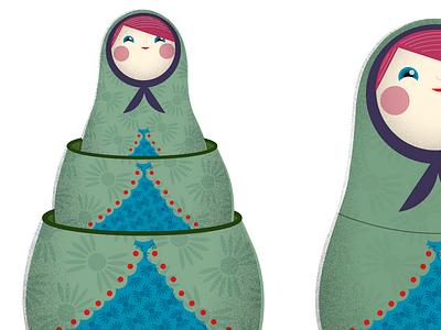 Russian Nesting Dolls russian nesting dolls dolls vintage antique knick-knack