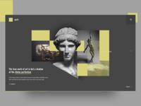 Art UI Concept