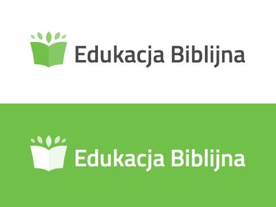 Edukacja Biblijna non profit clean branding logo