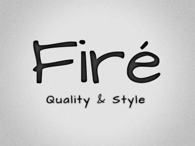 Firé logotype logo logotype shop jewelry