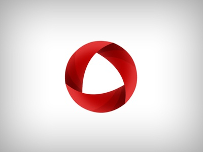 Interface Group Logo logo simple concept circle red