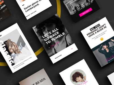Pinterest Templates Set