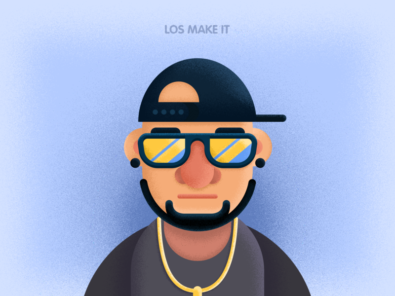 Artists with Sunglasses hip hop male sunglasses music artists design illustration