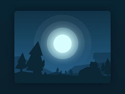 Snoozr Sunrise Concept minimalist clean app mobile digital sleep meditation relax nature moon ux ui