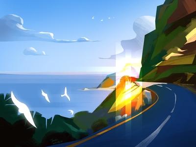 Island Ring road