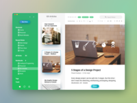 Evernote's redesign