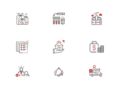 Outline Icons icons app vector