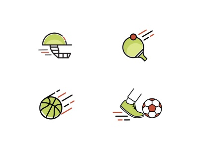 Sports Icons icongraphy