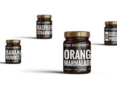 The Gourmet Jar gourmet packaging design