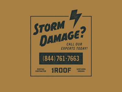1ROOF Storm Swag texture vector type swag magic logo lockup illustration design brave little beast branding agency branding