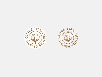 Cotton Stamp Design badge clothing brand vector brand assets hand drawn illustration art stamp design logo design logo packaging design illustrator logo designer graphic design brand design illustration design illustration branding icon stamp