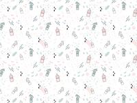 Milkbar Breastpumps Pattern Design