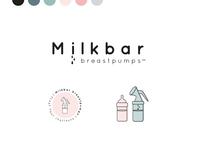 Milkbar Breastpumps Brand Design