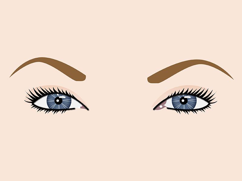 Eyes. Why? Why not? anatomy draw blue eyes illustrator vector eyes