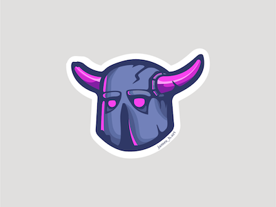 P.E.K.K.A. Sticker Design