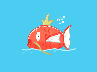 Magikarp Illustration