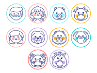Icons for kids app