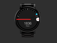 Android Wear Watchface Concept