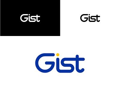 Gist logo design logo icon