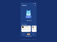Pet Club icon branding animation invite web app ux design ue ui