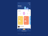 Pet Club3 icon animation adobe aftereffects logo web app ux design ue ui