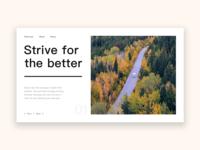 Web design practice