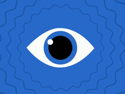 Vigilant Eye animated eye animation motion design motion graphics after effects 2d character animation 2d vector design flat character illustraion gif animated gif eyeball 2d animation 2d animation eye dribbbleweeklywarmup