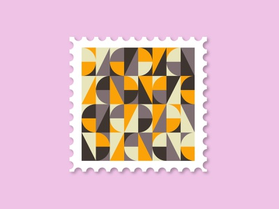 Pattern Stamp Edition colorful vector art adobe illustrator modern pattern a day geometry shapes vector stamp pattern art design graphic design pattern design color illustraion dribbbleweeklywarmup weeklywarmup patterns stamp pattern minimal