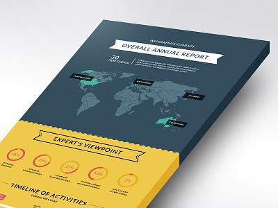 Infographic Elements data diagram icon infographic infographics pie statistics template vector visual