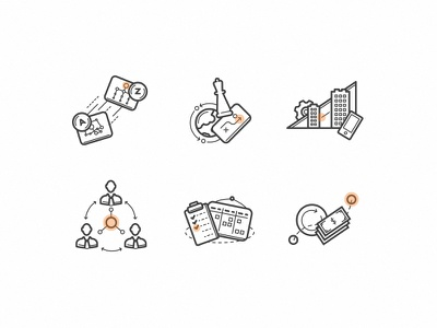 Icons 2.0 svg vector illustrator icons information technology consulting business
