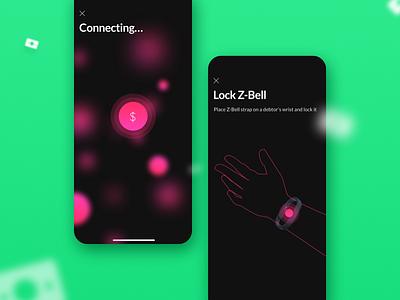 Debtz | App for moneylenders mobile app experience money concept design iphone x ios ui design user experience user centered design mobile app design ux design ui