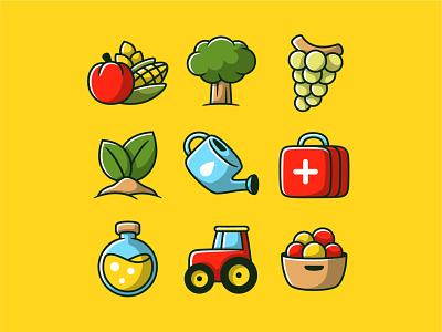 Wapi app design (part 3) icons design cute bold character app development mobile app ui ux logo branding vectors illustration design iconset icon