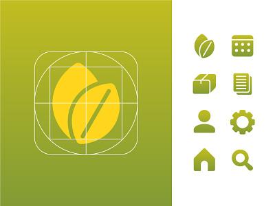 Wapi app design (part 4) design cute geometry branding logo app development app mobile ui ux illustration vectors icons design icon set icons