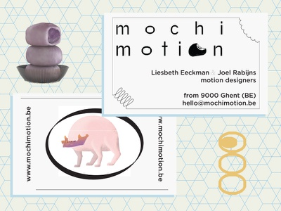 Mochi Card design graphic-design 9000 ghent weird typography logo character branding identity
