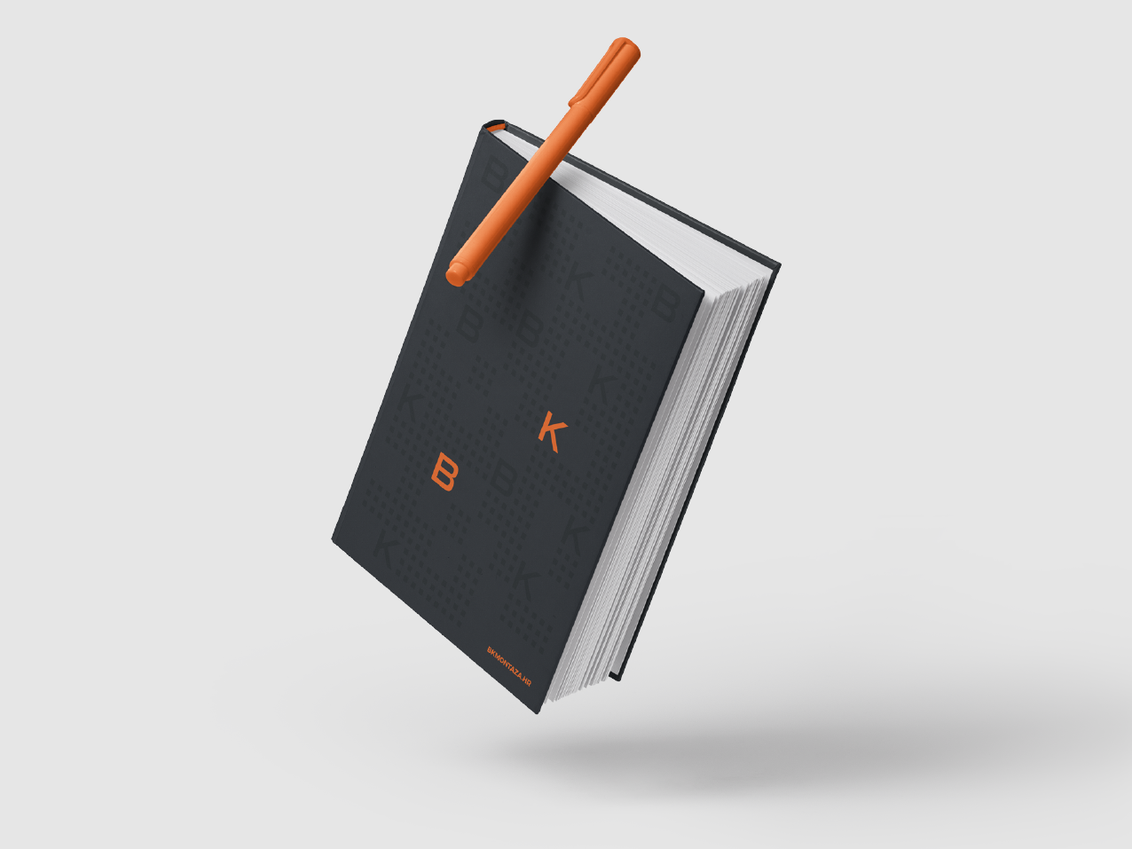 BK Montaza — Notebook graphicdesign cover book logo branding identity design
