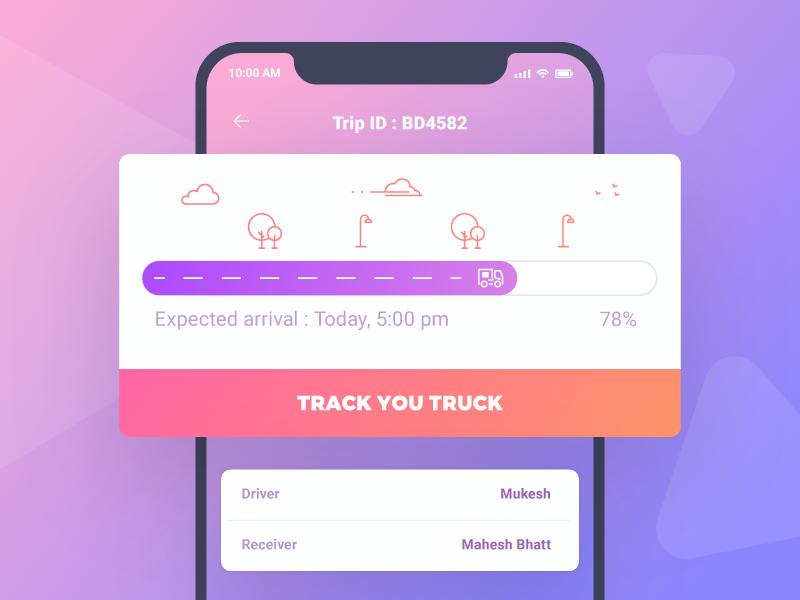 Progress bar card ui ios button bar call to action progress design app ux