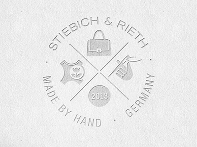 Sr leather signet schwarz4cm dribbble