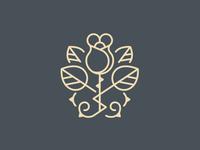 Rose Logo Brand