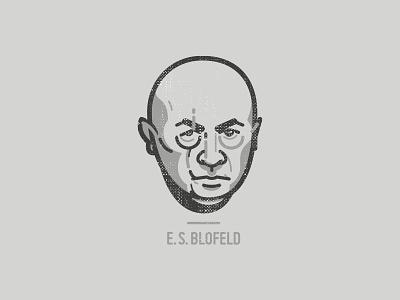 E. S. Blofeld portrait organisation villain 007 bond spectre