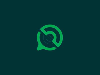 WhatsApp Icon call speech bubble communicate phone messenger