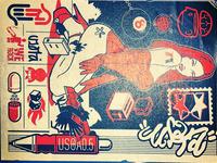 USOTA Logo Collection Sticker