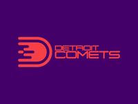 """""""Detroit Comets"""" logo"""