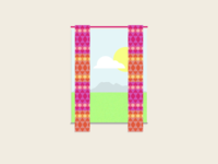 Aztec curtains