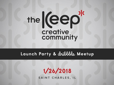 The Keep Launch Party & Dribbble Meetup launch party community coworking creative dribbble meetup