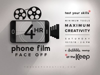 4hr Phone Film Face Off