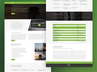 Amce Oil web concept - User Interface Design