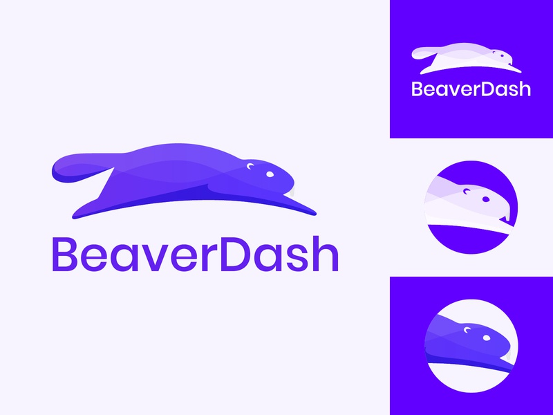 BeaverDash Logo beaver wordpress illustration branding logo