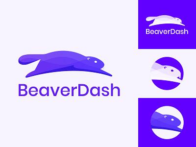 BeaverDash Logo beaver wordpress illustration branding logo