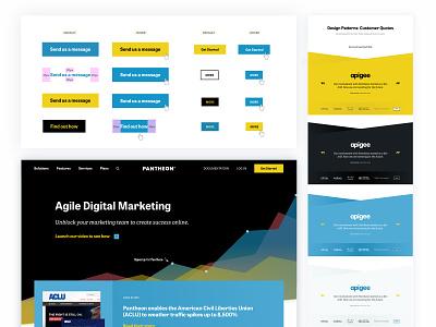 Pantheon.io Redesign marketing site drupal hosting